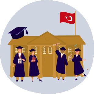 راهنمای تحصیل در مدارس و دانشگاه های ترکیه